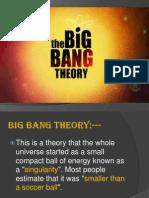 BigBang and Beyond 2
