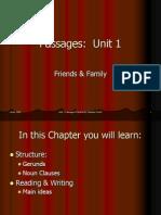 Passages Unit 1