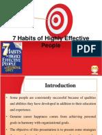 7 HABITS Module