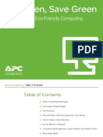 APC - The Benefits of Eco-Friendly Computing