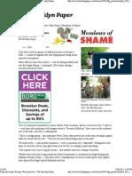 Cops Nab Bizarre Prospect Park Poachers