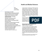 HCC Catalog - Health and Medical Sciences Catalog