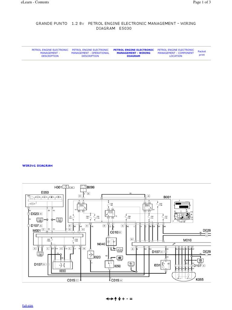 Fiat Ulysse Wiring Diagram Schematic Diagrams Fuse Box Schematics Husaberg Grande Punto Pdf