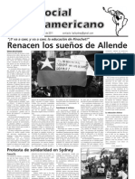 `Foro Social Latinamericano', Green Left Weekly's Spanish-language supplement, August 2011 issue