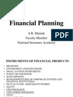 Financial Planning MDC