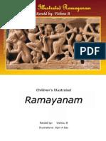 Children's Illustrated RAMAYANAM - Vishnu B