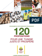 Programme 120 Propositions PDP