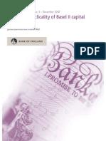 Monitoring Cyclicality of Basel II Capital