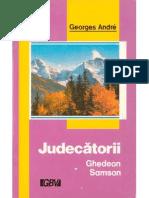 Andre Georges - Judecatorii Ghedeon Si Samson