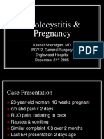 Cholecystitis & Pregnancy - KSherafgan