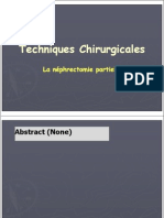 45-Techniques Chirurgicales Nephrectomie