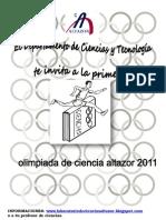 Olimpiadas de Ciencias Altazor 2011