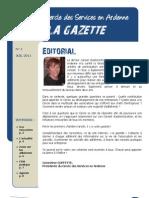 Gazette Numero1