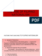 The Rise of Filipino Nationalism