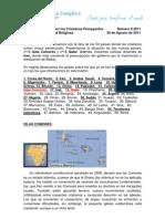 Boletín de Oración por los Cristianos Perseguidos Septiembre 2011