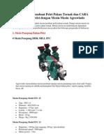 Paket Mesin Pembuat Pelet Pakan Ternak Dan CARA Membuat Pelet Dengan Mesin