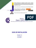 OPENCERTIAC.documentacion.programador.plataforma de Desarrollo.guia de Instalacion