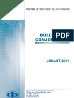 Bulletin de Conjoncture 07 2011