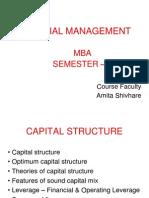 Unit 2 Capital Structure