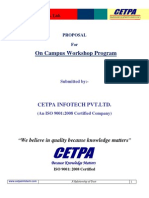 CETPA Workshop Proposal
