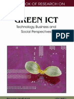 Handbook of Research on Green ICT Technology