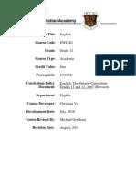 EWC4U Course Syllabus