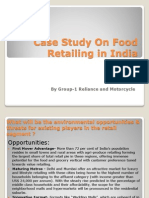 Case Study on Food Retailing in India Wrong.....