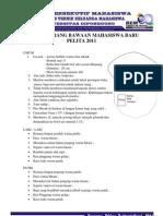 Daftar Barang Bawaan Maba2011