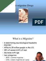 Anti Migraine Drugs