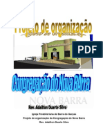 PROJETO DE ORGANIZAÇÃO