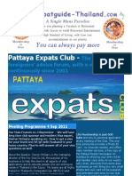 Pattaya Expats Club 4th September 2011