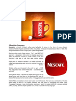 Individual Report Nescafe