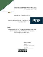 IMPLEMENTACIÓN DEL DISEÑO DE CIMENTACIONES CON MICROPILOTES