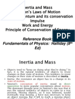 Inertia and Mass