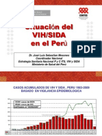 Situación del VIH SIDA en el Perú
