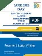 Resume Writing Slides
