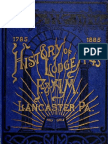 History of Lodge No 43 f and Am - g r Welchans