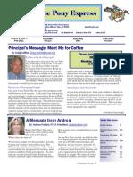 Feb 2011 PTSA Pony Express Newsletter