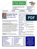 May June 2011 PTSA Pony Express Newsletter