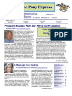 Nov 2010 PTSA Pony Express Newsletter