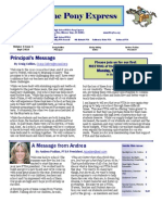Sept 2010 PTSA Pony Express Newsletter