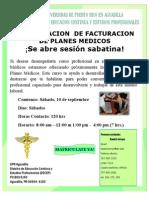 2da sesion CERTIFICACION FACTURACION DE PLANES MEDICOS (sabatino)