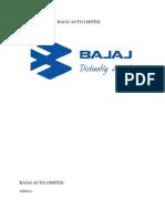 Bajaj Auto Limited..