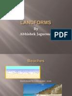 Landforms by Abhishek Jaguessar