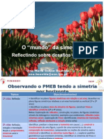 O Mundo Da Simetria- Reflectindo Sobre Desafios Do PMEB