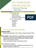 Nota CTU 211 (Sejarah Sains Dan Teknologi Islam)