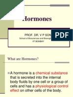 Lecture 1 Hormones