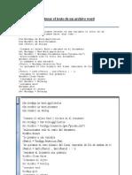 Capturar El Texto de Un Archivo Word
