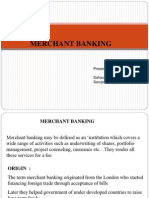 Presentation on Merchant Banking