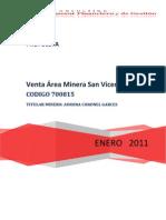 Oferta Comercial San VicenteA 2011